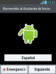 Activa el equipo - LG Optimus L3 II - Passo 3