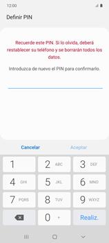Cómo configurar el Face ID - Samsung Galaxy S10 Lite - Passo 10
