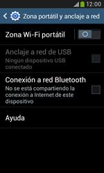Configura el hotspot móvil - Samsung Galaxy Trend Plus S7580 - Passo 6