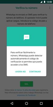 Configuración de Whatsapp - Motorola Moto E5 - Passo 10