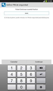 Desbloqueo del equipo por medio del patrón - Samsung Galaxy Tab 3 7.0 - Passo 13