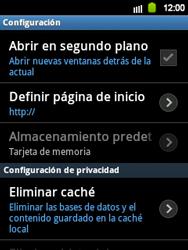 Configura el Internet - Samsung Galaxy Y  GT - S5360 - Passo 23