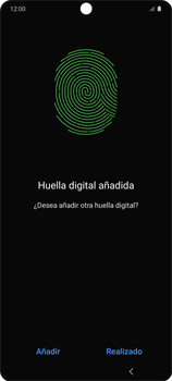 Habilitar seguridad de huella digital - Samsung Galaxy S10 Lite - Passo 14