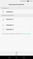 Transferir fotos vía Bluetooth - Huawei P9 - Passo 11