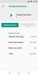 Limpieza de aplicación - Motorola Moto E5 Play - Passo 8