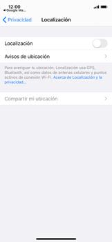 Uso de la navegación GPS - Apple iPhone 11 Pro - Passo 5