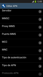 Configura el Internet - Samsung Galaxy S4  GT - I9500 - Passo 12