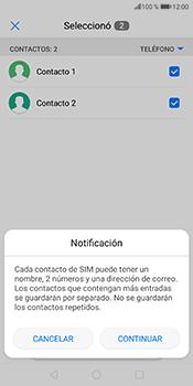 ¿Tu equipo puede copiar contactos a la SIM card? - Huawei P Smart - Passo 8