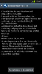 Restaura la configuración de fábrica - Samsung Galaxy S 3  GT - I9300 - Passo 6