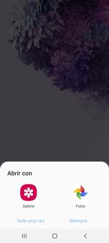 Tomar una captura de pantalla - Samsung Galaxy S20 - Passo 6