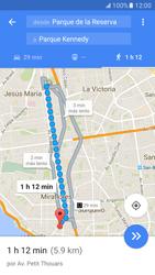 Uso de la navegación GPS - Samsung Galaxy S7 - G930 - Passo 16