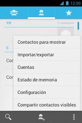 ¿Tu equipo puede copiar contactos a la SIM card? - Motorola RAZR D1 XT914 - Passo 5
