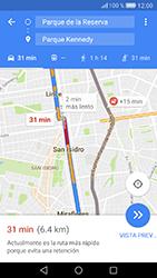 Uso de la navegación GPS - Huawei Cam Y6 II - Passo 18