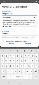 Configura el hotspot móvil - Samsung Galaxy A30 - Passo 9