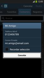 Envía fotos, videos y audio por mensaje de texto - Samsung Galaxy S4  GT - I9500 - Passo 6