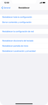 Restaura la configuración de fábrica - Apple iPhone 11 - Passo 5