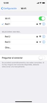 Configura el WiFi - Apple iPhone X - Passo 7