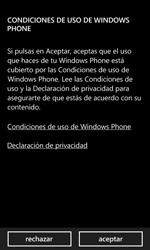 Activa el equipo - Nokia Lumia 620 - Passo 7