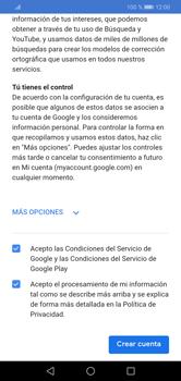 Crea una cuenta - Huawei Y7 2019 - Passo 14