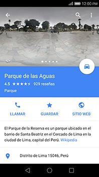 Uso de la navegación GPS - Huawei G8 Rio - Passo 12