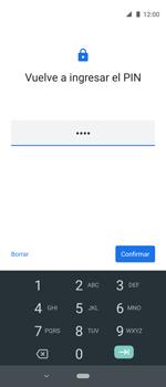 Cómo cambiar el código de bloqueo de pantalla de tu teléfono - Motorola One Vision (Single SIM) - Passo 9