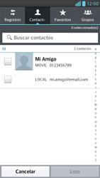 Envía fotos, videos y audio por mensaje de texto - LG Optimus G Pro Lite - Passo 5