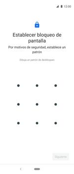 Desbloqueo del equipo por medio del patrón - Motorola One Vision (Single SIM) - Passo 7