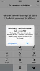 Configuración de Whatsapp - Apple iPhone 6s - Passo 4