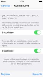 Crea una cuenta - Apple iPhone SE - Passo 16