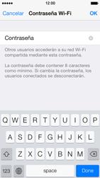 Configura el hotspot móvil - Apple iPhone 5s - Passo 5