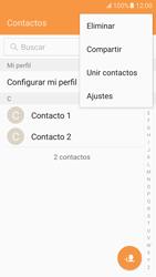 ¿Tu equipo puede copiar contactos a la SIM card? - Samsung Galaxy S7 - G930 - Passo 5