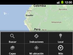 Uso de la navegación GPS - Samsung Galaxy Y Pro GT - B5510 - Passo 10