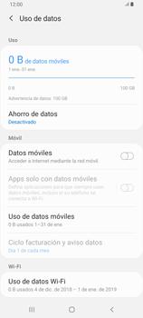 Desactiva tu conexión de datos - Samsung Galaxy A80 - Passo 6