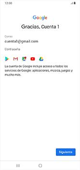 Crea una cuenta - Samsung Galaxy A10 - Passo 16