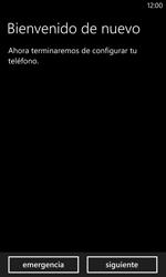 Activa el equipo - Nokia Lumia 1020 - Passo 3