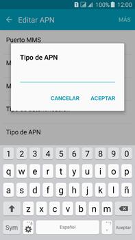 Configura el Internet - Samsung Galaxy J7 - J700 - Passo 15