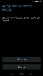 Crea una cuenta - Huawei Ascend Mate 7 - Passo 2