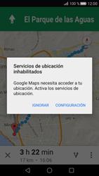 Uso de la navegación GPS - Huawei P8 - Passo 20