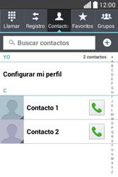 ¿Tu equipo puede copiar contactos a la SIM card? - LG L40 - Passo 4