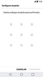 Desbloqueo del equipo por medio del patrón - LG G5 SE - Passo 10