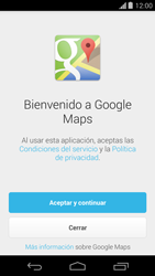 Uso de la navegación GPS - Motorola Moto G - Passo 4