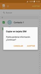 ¿Tu equipo puede copiar contactos a la SIM card? - Samsung Galaxy S6 - G920 - Passo 12