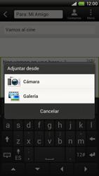 Envía fotos, videos y audio por mensaje de texto - HTC ONE X  Endeavor - Passo 13