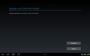 Crea una cuenta - Samsung Galaxy Note 10-1 - N8000 - Passo 3