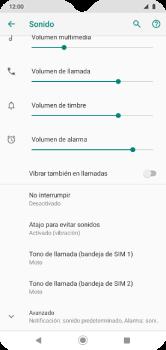 Configuración de tono de llamada - Motorola Moto G8 Play (Single SIM) - Passo 7