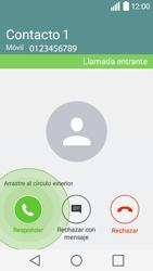 Contesta, rechaza o silencia una llamada - LG C50 - Passo 3
