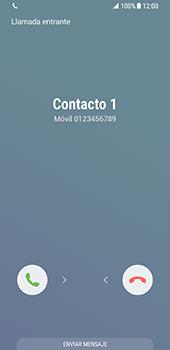Contesta, rechaza o silencia una llamada - Samsung Galaxy S8 - Passo 3
