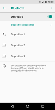 Conecta con otro dispositivo Bluetooth - Motorola Moto G6 Play - Passo 7