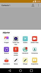 Envía fotos, videos y audio por mensaje de texto - LG G5 - Passo 12