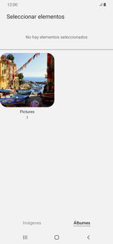 Envía fotos, videos y audio por mensaje de texto - Samsung Galaxy A50 - Passo 19